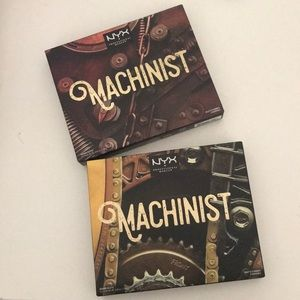 NYX machinist palettes Ignite and Grind